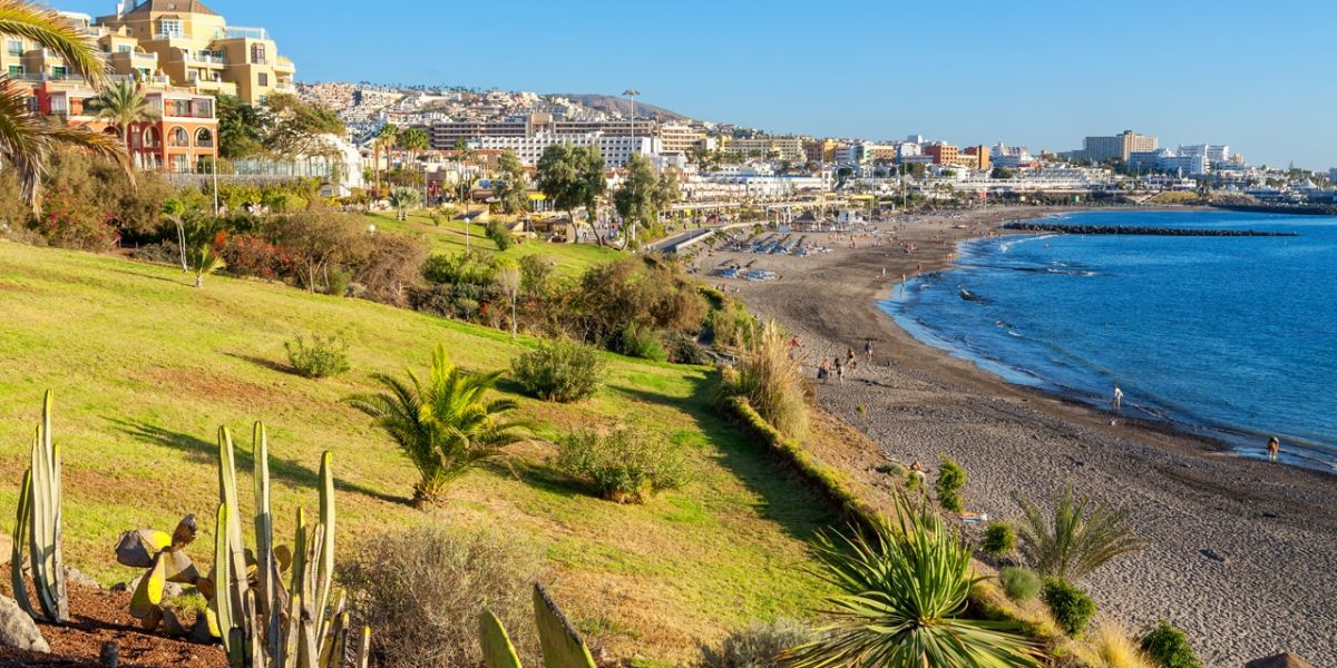 Costa Adeje. Tenerife, Canary Islands, Spain-min
