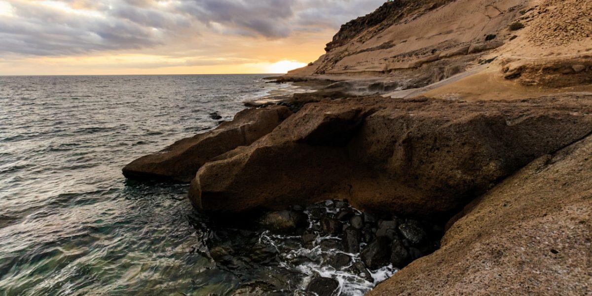 Tenerife landscape - Costa Adeje sunset-min