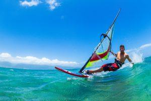 Playa de Las Americas windsurfen
